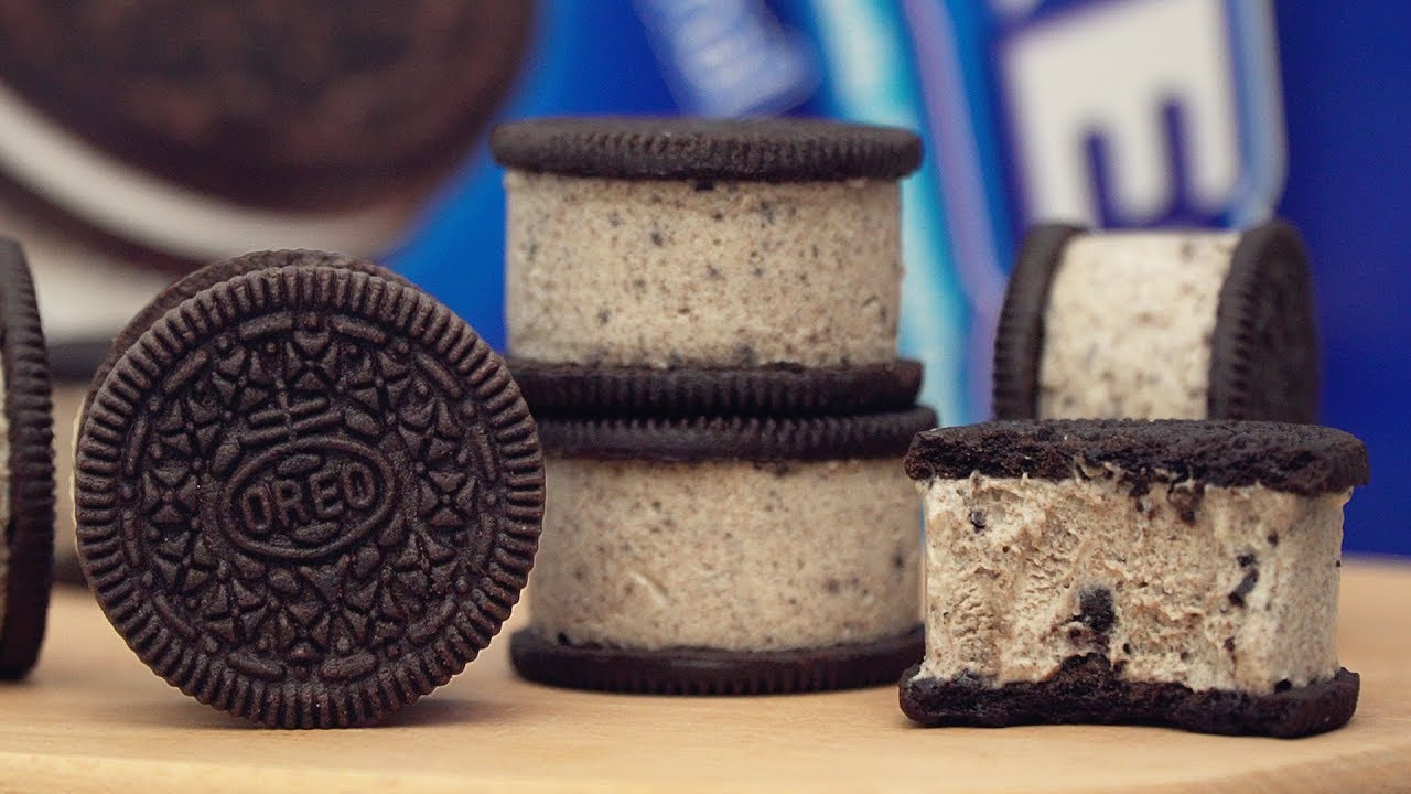Oreo Ice Cream Sandwich Recipe | 3 Ingredients
