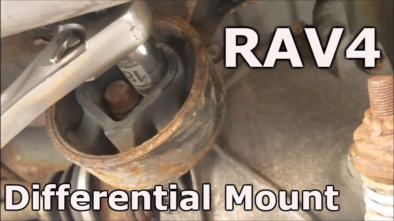 hight resolution of toyota rav4 differential mount