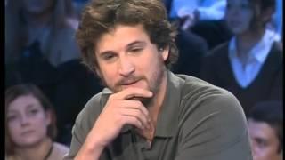 Guillaume Cannet - On n'est Pas Couché 28 octobre  2006 # ONPC