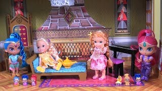 Princess Story: Frozen Princess Anna and Elsa Dress Up Game, Shimmer and Shine Teenie Genies