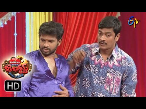 Hyper Aadi Raising Raju Performance | Jabardsth | 2nd February 2017| ETV  Telugu
