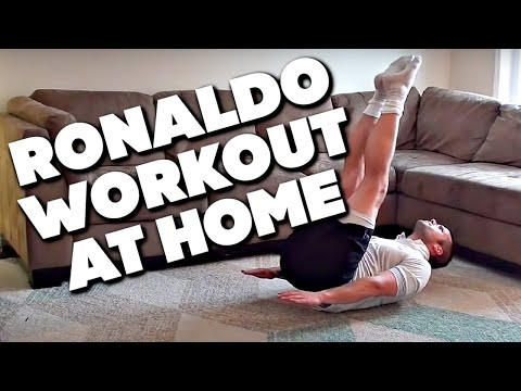 Cristiano Ronaldo Workout At Home ► Want that CR7 body type?