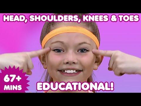 Head Shoulders Knees and Toes | Kids Songs | Nursery Rhymes | Children's Music