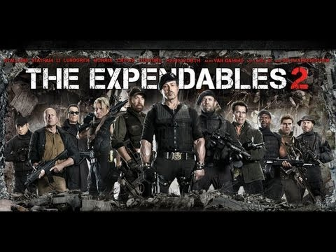 The Expendables 2 Blu Ray Combo Pack Unboxing