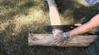 Timber Frame Bed (part 1)