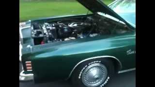 1976 Chrysler Cordoba start up review