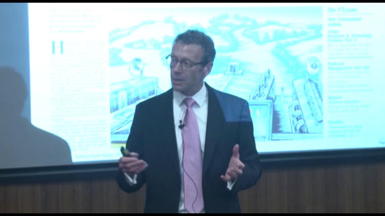 TÜSİAD-ESMT Sanayi 4.0 Etkinlikleri Joe Peppard Sunumu