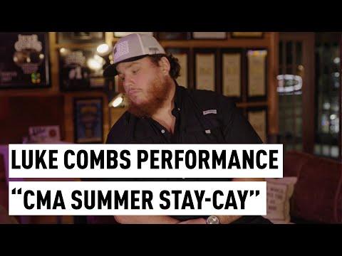 "Luke Combs ""Lovin' On You"" Performance | ""CMA Summer Stay-Cay"" Full Segment"