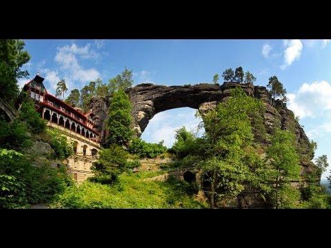 Národní park České Švýcarsko,Pravčická brána,Edmundova soutěska,Hřensko,GoPro HD