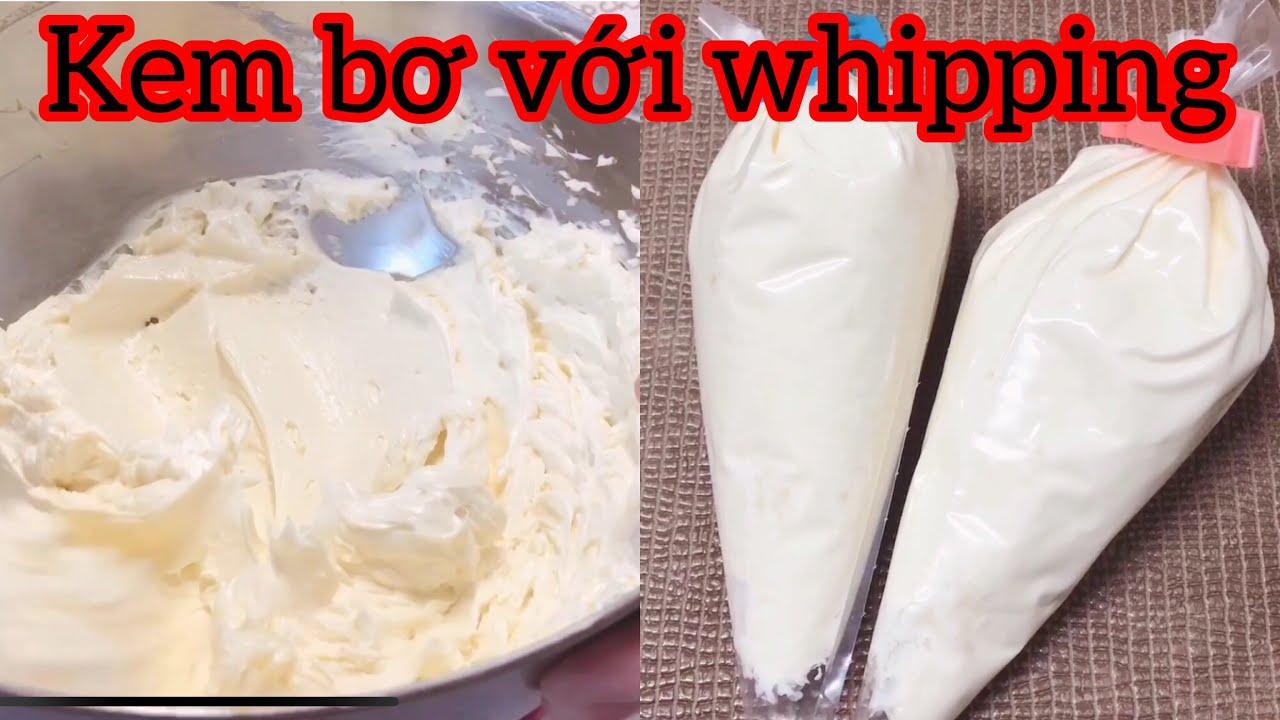 #36 CÁCH LÀM KEM TRÉT BÁNH SINH NHẬT – Butter Whipping Cream [ Góc Bánh Trái ]