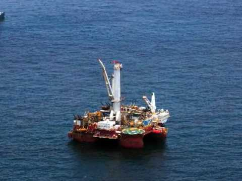 CONFIRMED: Aerial Video Shows Second Leaking Rig Near The