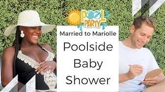 Pool Party Baby Shower Ideas - Baby Shower Vlog