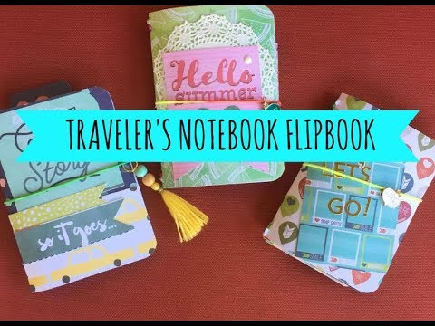 Traveler's Notebook Flipbook