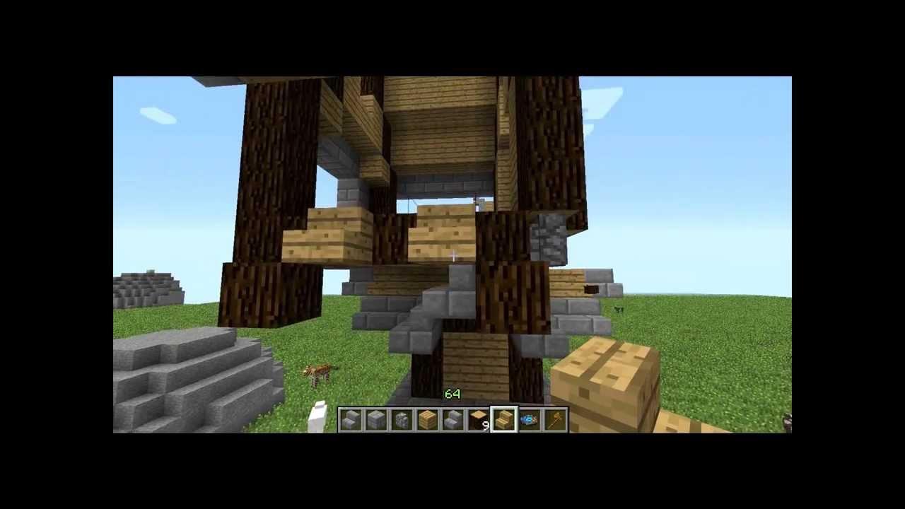 Tuto Constructiondu Coté De Chez Vous Ep1 Maison Steampunk Minecraft