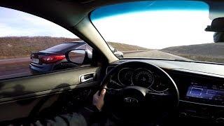 Hyundai Sonata (ГАЗ)    vs    KIA  Optima (ГАЗ) ...  Газовый БАТЛ !!!