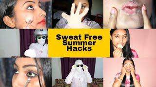 इस गर्मी में अब आपका चेहरा काला नहीं पड़ेगा | दावे के साथ केह सकती हूँ|| Sweat proof Summer Hacks