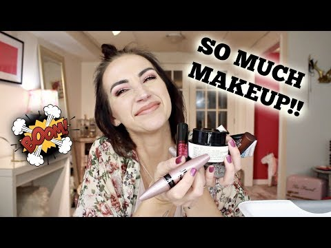 HUGE EMPTIES   MAKEUP, SKINCARE, AND EVERYTHING IN BETWEEN   2018