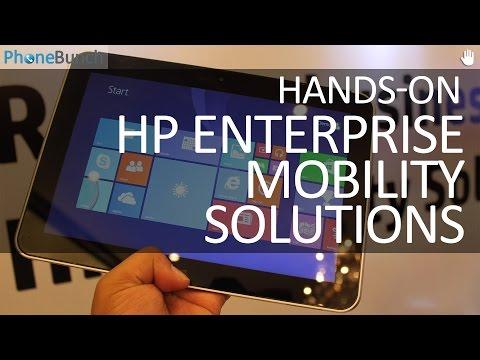 HP Enterprise Mobility Solution Tablets & Notebook Hands-on