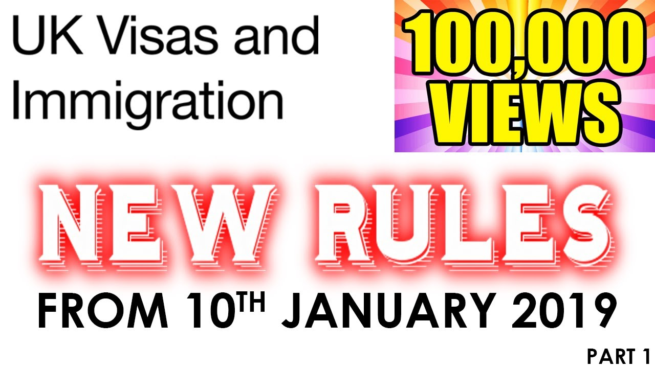 NEW CHANGES IN UK IMMIGRATION RULES 2019 |SPOUSE VISA|WORK VISA|TIER 4|TIER  5|ASYLUM SEEKERS PART-1