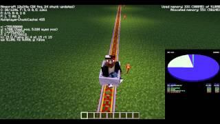 Achievement Minecraft: On A Rail