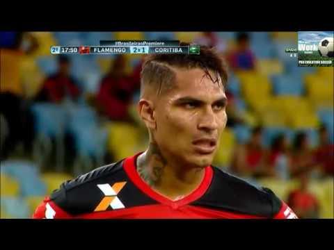 Flamengo 2 x 2 Coritiba, Melhores Momentos, Brasileirão 2016