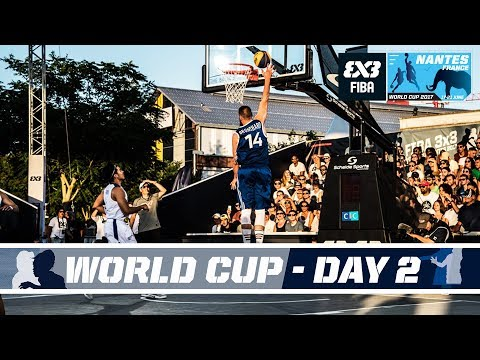 FIBA 3X3 World Cup 2017 - Nantes, France - LIVE - Pool Phase - Day 2