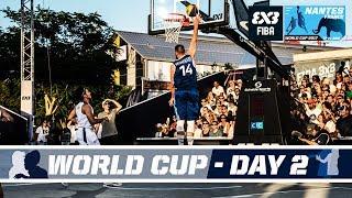 FIBA 3X3 World Cup 2017 - Nantes, France - Pool Phase - Day 2