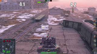 Grille 15: Old vs New   WoT Blitz