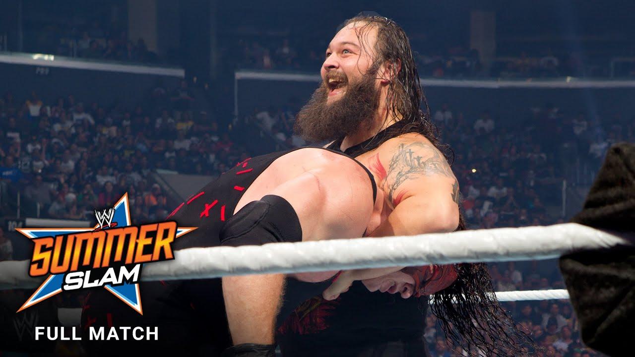 FULL MATCH - Kane vs. Bray Wyatt - Ring of Fire Match: SummerSlam 2013