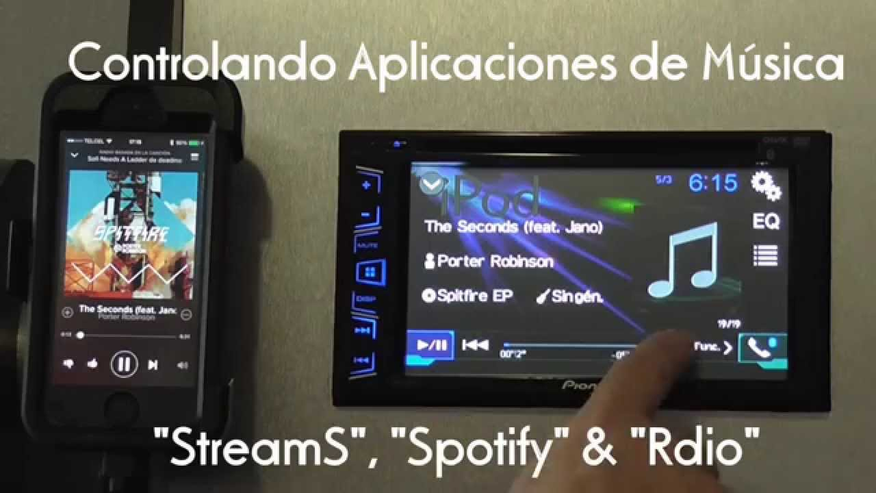 Manos Libres Avh 275bt Ipod Iphone Control Bt Control - Youtube