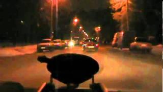 Погоня за лихачом съемка ГАИ Самара 26 11 2011