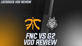 FNC vs G2 - Fnatic plays away from their strengths and can't match up to G2
