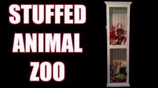 Stuffed Animal Zoo Cabinet