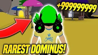 GETTING THE RAREST DOMINUS IN DOMINUS LIFTING SIMULATOR!! (Roblox)