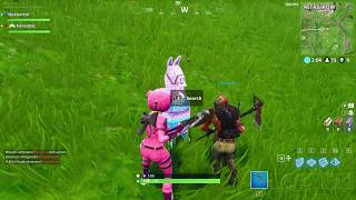 Fortnite secret loot llama in Battle royale (Gone wrong) (almost died)