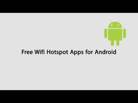 Free Wifi Hotspot App For Unrooted Android Devices
