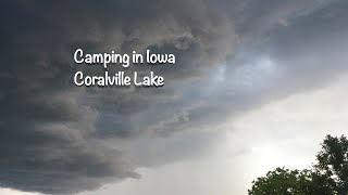 Coralville Lake camping/Iowa