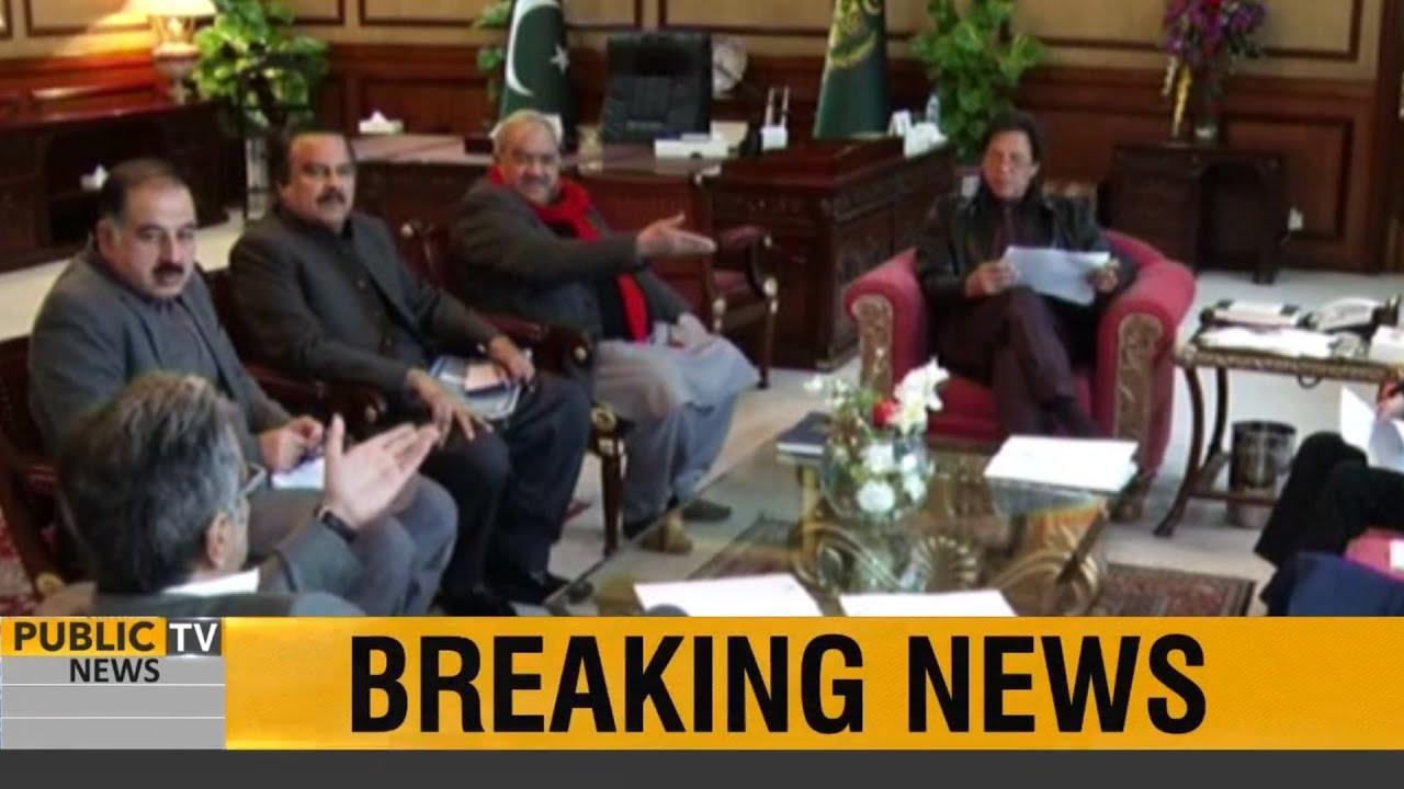 PM Imran Khan meets Public News anchor Chaudhry Ghulam Hussain