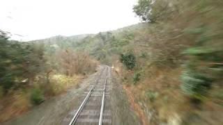 2009.1.16 JR山陰本線 江崎→飯浦 前面展望