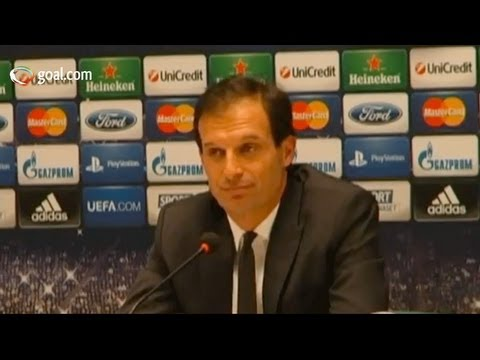 AC Milan vs Barcelona - Massimiliano Allegri post-match press conference