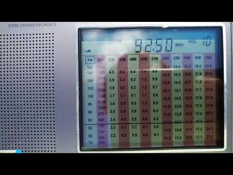 92.50 MHz FM DX-ing. FM radio from Turkey with reception in Belarus. Unknown radio...