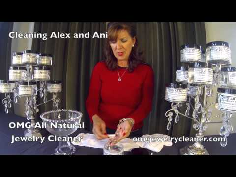 How To Clean Alex and Ani Bangles safely with OMG Jewelry Clearer at home in one minute!