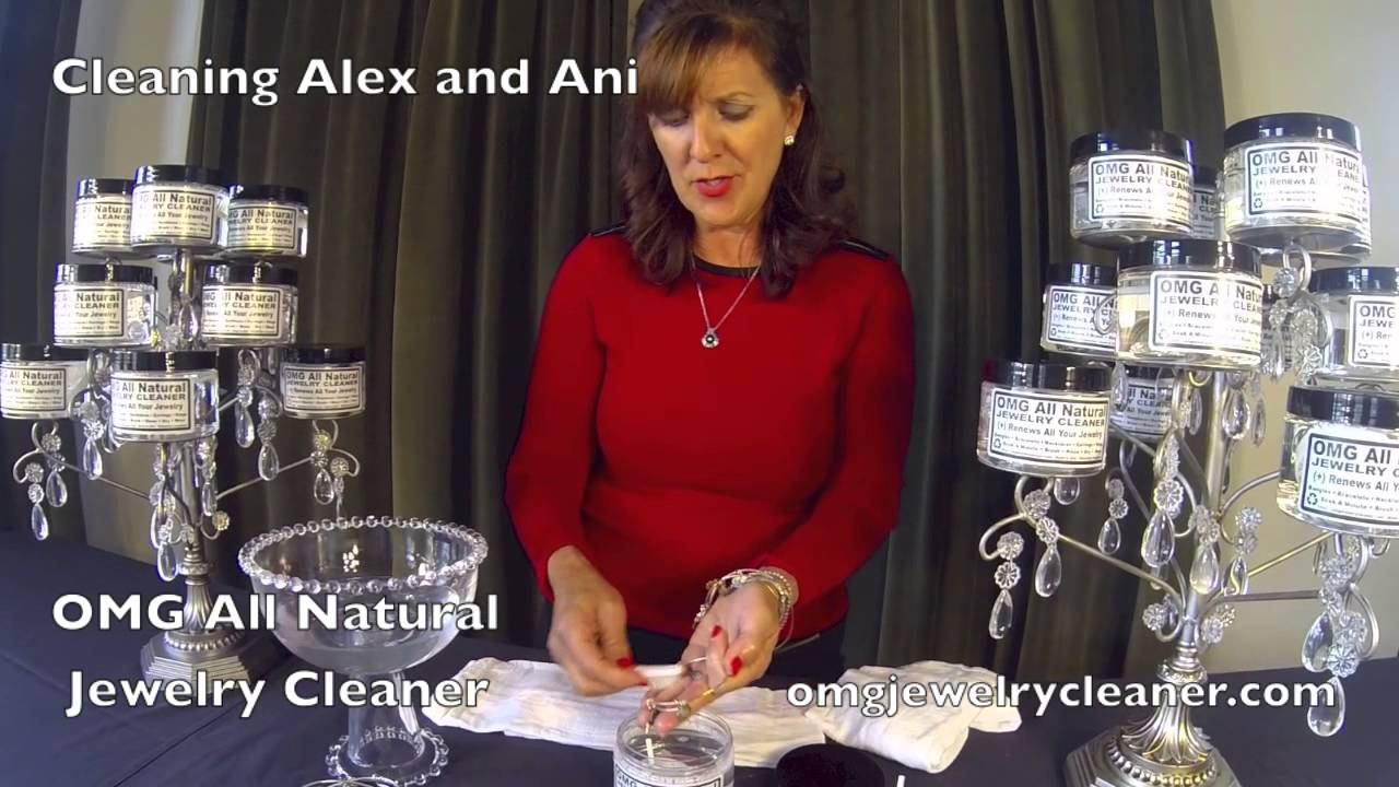 how to clean jewellery safely