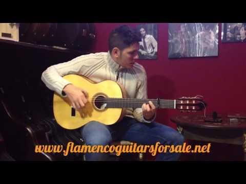 Graciliano Pérez 2014 flamenco guitar for sale