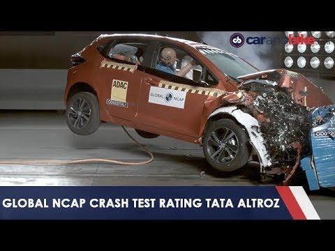 Tata Altroz Gets 5 Stars In Crash Test | Carandbike