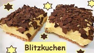 Blitzkuchen: Schneller 10 Minuten Schaumkuchen ohne backen!