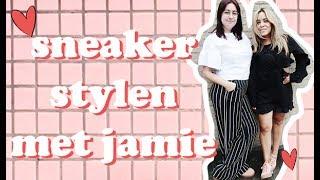 WAT TE DOEN MET ROZE GYMPEN? - SNEAKER STYLEN MET JAMIE #1
