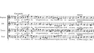 Johannes Brahms: Drei Motetten op. 110