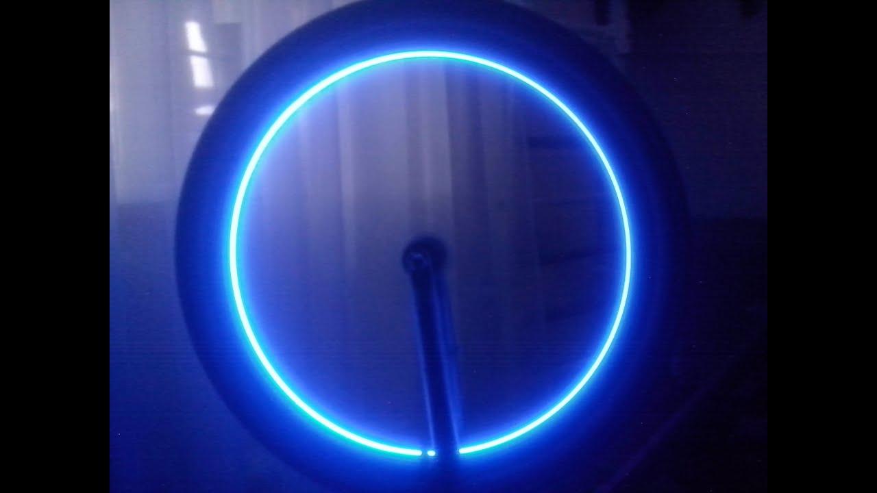 Подсветка колеса велосипеда своими руками - YouTube