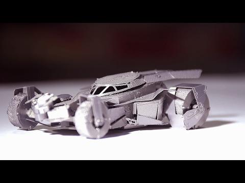 BatMobile-3D Metal Puzzle